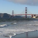 Golden Gate bridge by daffodil