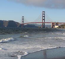 Golden Gate bridge by daffodil