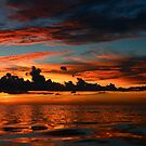 Beautiful sunset at tropical island Key Largo, FL by Anton Oparin