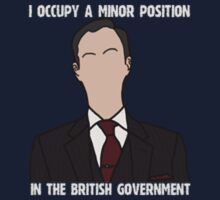 Mycroft & the British Government by tomanii
