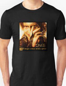 Once upon a time, Rumpelstiltskin, Rumple, OUAT, robert carlisle Unisex T-Shirt