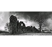 Pendragon Castle Photographic Print