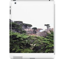 Pacific Coast Cypress Trees-Pebble Beach iPad Case/Skin