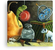 YoYo - Still Life Oil Painting Canvas Print