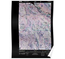 USGS Topo Map Washington State WA Easton 20110428 TM Inverted Poster