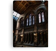 Stained Glass Windows at the NHM Canvas Print
