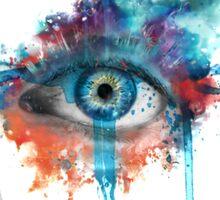 Woman's Eye Sticker
