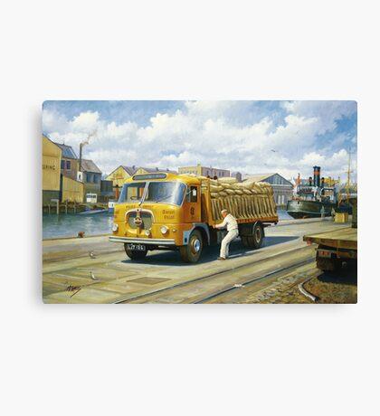 Christoper Hill's Seddon Canvas Print