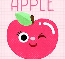 The Apple of My Eye pink version by katuno