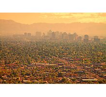 Phoenix Valley Of The Sun Photographic Print