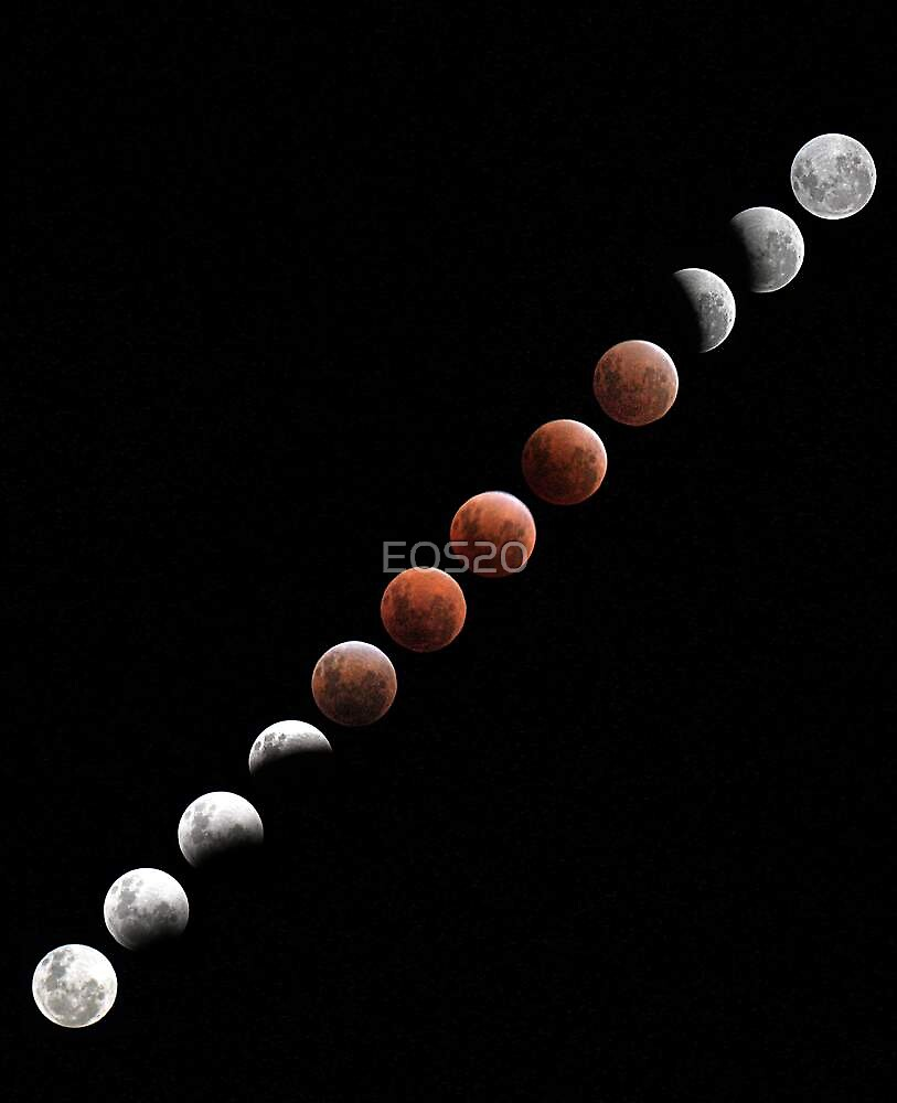 Lunar Eclipse - December 10 2011 by EOS20