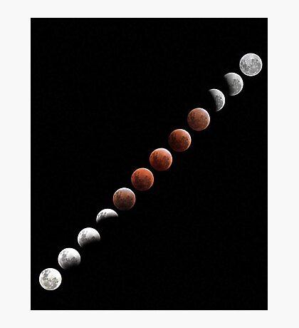 Lunar Eclipse - December 10 2011 Photographic Print