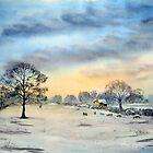 Winter Tree, Mattersey, North Nottinghamshire. by Glenn Marshall