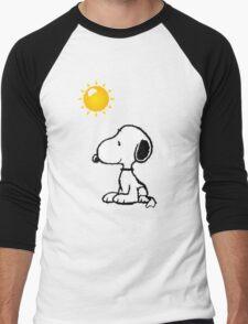 Happy snoopy Men's Baseball ¾ T-Shirt