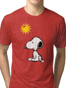 Happy snoopy Tri-blend T-Shirt