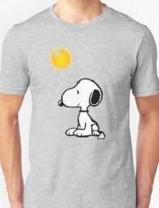 Happy snoopy Unisex T-Shirt