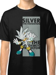 Silver The Hedgehog Classic T-Shirt
