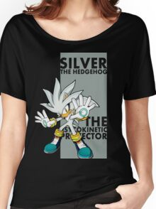 Silver The Hedgehog Women's Relaxed Fit T-Shirt
