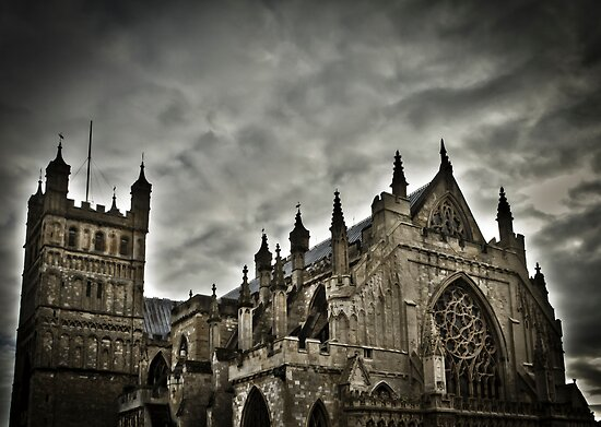 Exeter Cathedral by daynov