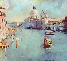 Venice Grand Canal by yumas
