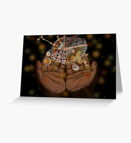 Protecting traditional knowledge Greeting Card
