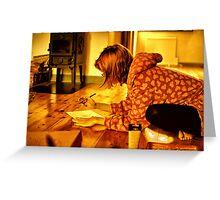 Art Studio Greeting Card