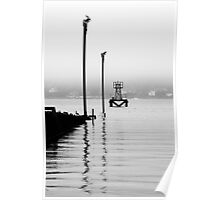South Queensferry - Seascape Verticals Poster