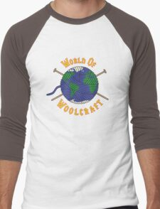 World Of Woolcraft Men's Baseball ¾ T-Shirt