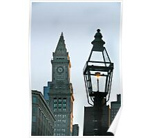 Two Steeples Poster