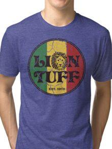 Lion Tuff VNTG CRCL Tri-blend T-Shirt