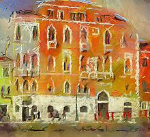 Venice: Houses on Canal 2 by yumas