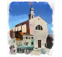 Venice Churches Poster