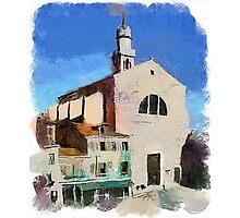Venice Churches Photographic Print
