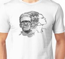 The Monster and His Bride Unisex T-Shirt