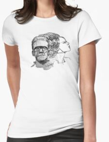 The Monster and His Bride Womens Fitted T-Shirt