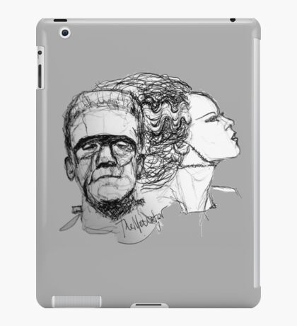 The Monster and His Bride iPad Case/Skin