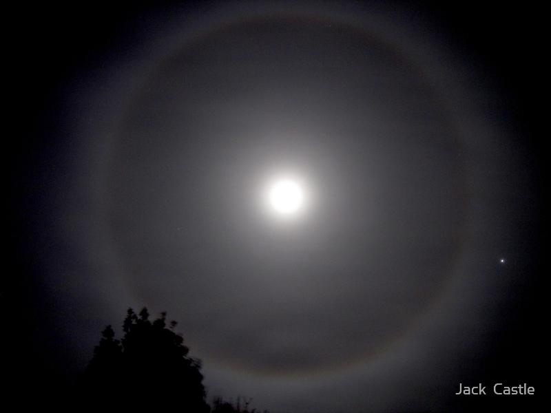 'Lunar Halo'  by Jack  Castle
