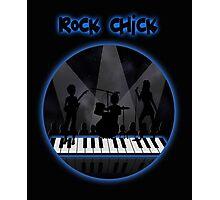 Rock chick Photographic Print