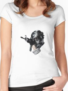 COD MW3 Women's Fitted Scoop T-Shirt