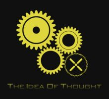 The Idea of Thought and Knowledge by ModeDesigns