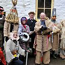 A team of Christmas Mummers by MiskellyTrevor