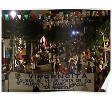 The first procession of the day - La primera procesión del dia Poster