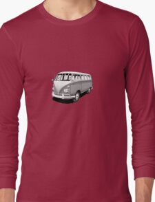 VW Deluxe Bus Long Sleeve T-Shirt