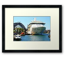 The Big Girls In Town Framed Print