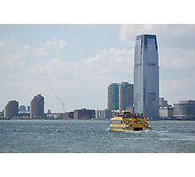 Water Taxi NYC Photographic Print