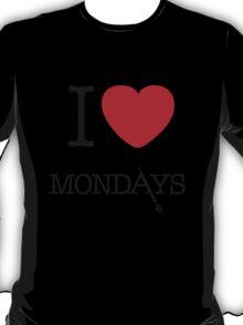 I Love Mondays- Castle T-Shirt