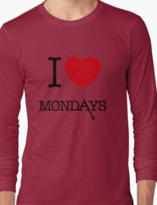 I Love Mondays- Castle Long Sleeve T-Shirt