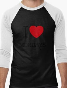 I Love Mondays- Castle T-Shirt