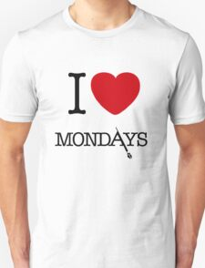 I Love Mondays- Castle Unisex T-Shirt