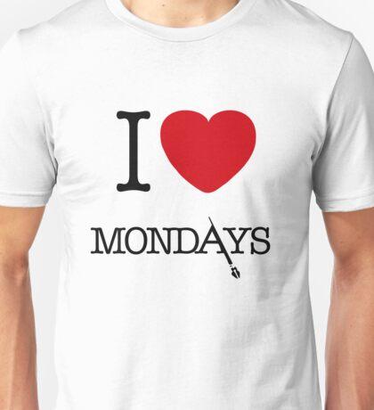 I Love Mondays- Castle Unisex T-Shirt